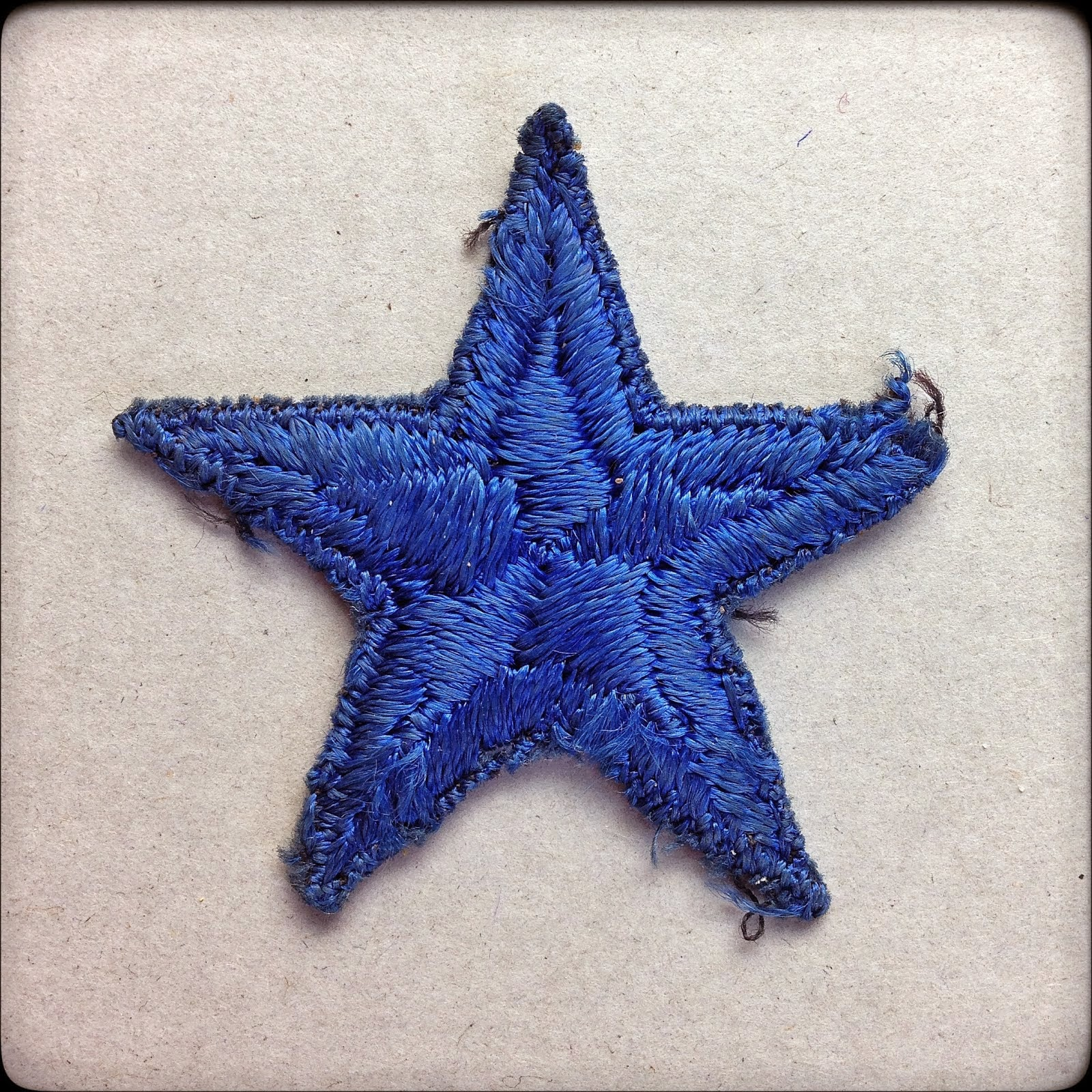 Blue Star Mothers Service Flag Star