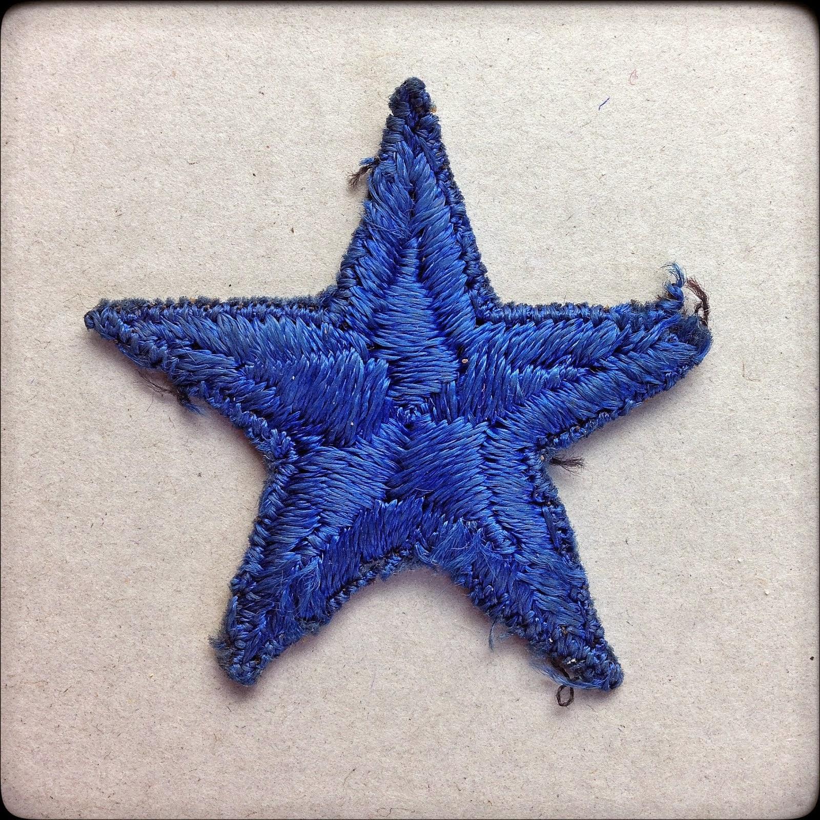 Blue Star Mothers Service Flag Star