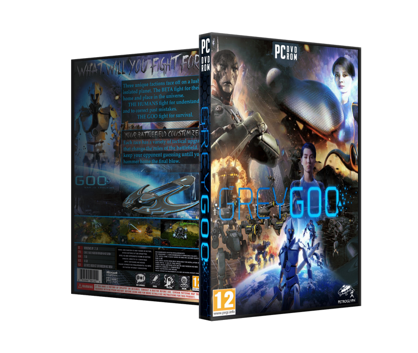 Capa Grey Goo PC