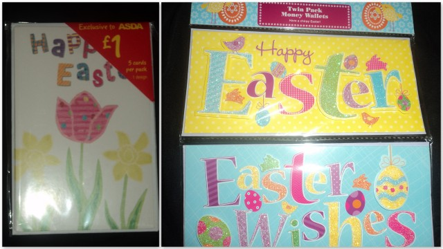 Where Roots And Wings Entwine Happy Easter with Asda – Make Your Own Easter Cards