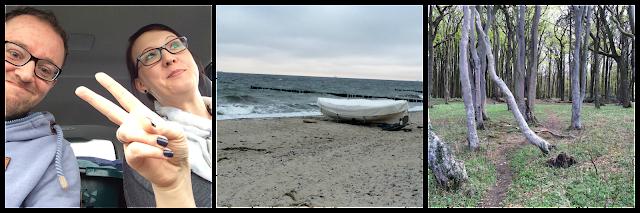 Menschen Peace Strand Boot Wald Gespensterwald Nienhagen Warnemünde