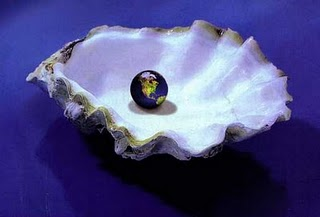 The world in an oyster shell