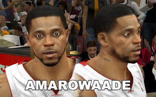 NBA 2K13 Udonis Haslem Cyber Face Mods