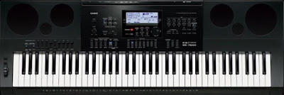 dan Organ Casio WK-7600