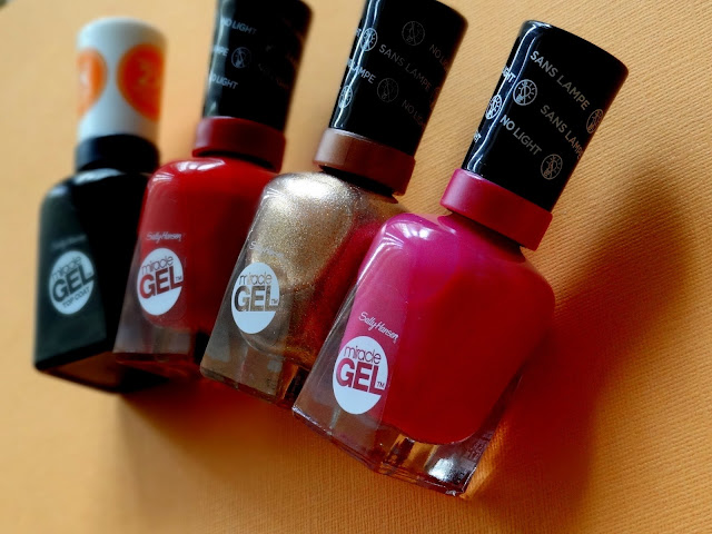 Sally Hansen Re-Formulated Miracle Gel Top Coat & New Miracle Gel Shades For Fall 2015