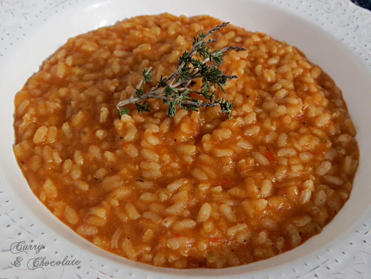 Arroz fácil con verduras  - Easy vegetable rice