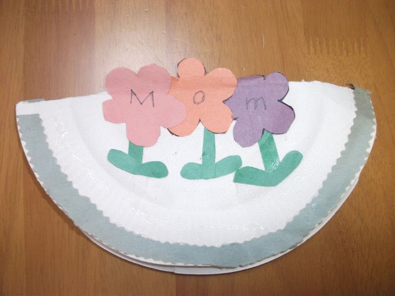Preschool Crafts For Kids Easy Mother 39 S Day Card Paper