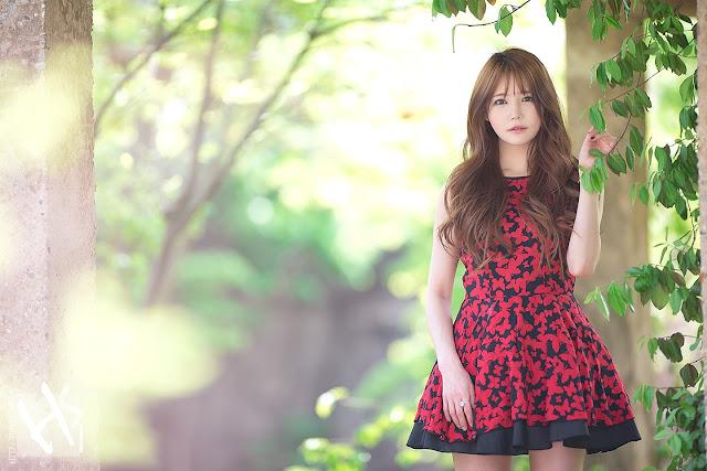 12 Han Ga Eun - Lovely Ga Eun In Outdoors Photo Shoot - very cute asian girl-girlcute4u.blogspot.com