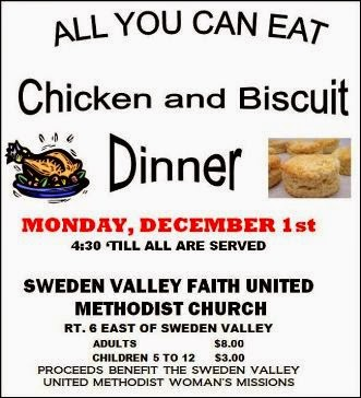 12-1 Chicken & Biscuit Dinner