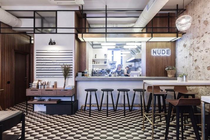 Ilia estudio interiorismo caf nude wine en m scu for Disenos de interiores para negocios