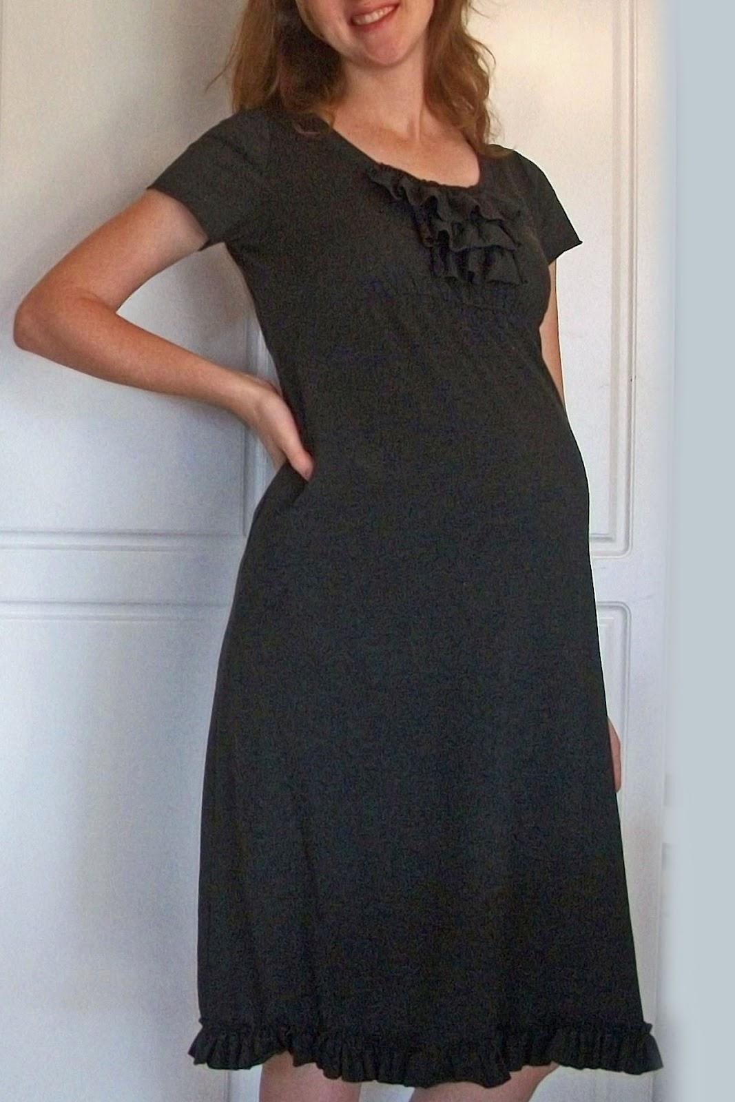 Idea bottle easy diy ruffle top dress tutorial my maternity dress idea bottle easy diy ruffle top dress tutorial my maternity dress makeover ombrellifo Choice Image