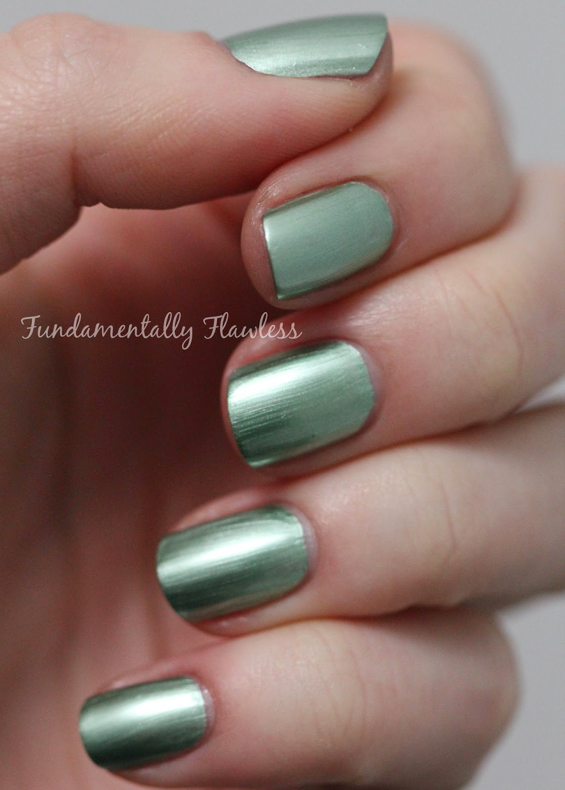 Models Own Colour Chrome Collection Green Swatch