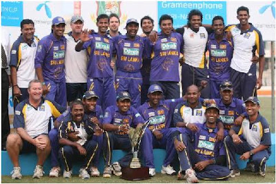 Sri Lankan cricket team for world cup 2011