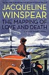 'The Mapping of Love and Death' by Jacqueline Winspear US hardcover edition front cover