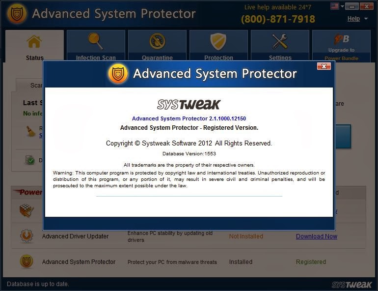 Download Advanced System Protector 2.1.1000.12150 Including Serial key