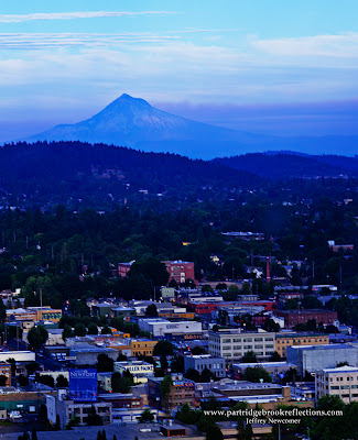 Mount Hood from Portland