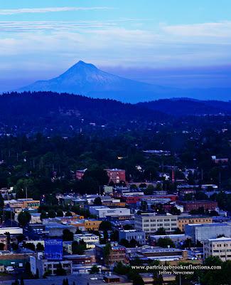 Mount Hood from Portland