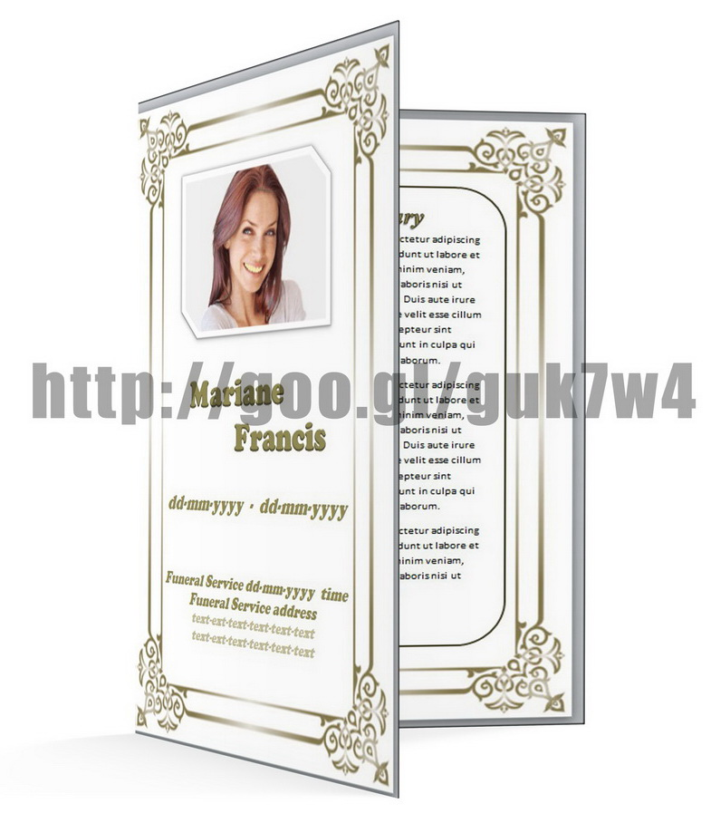 Free Obituary Template Printables For Editing And Fill In | Free ...