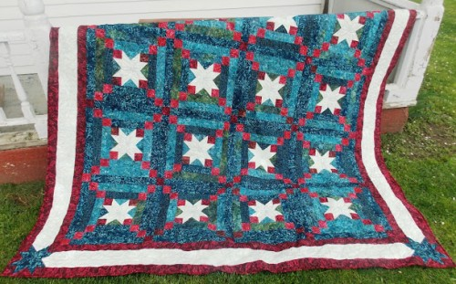 Star Spangled Sky Quilt -Free Pattern