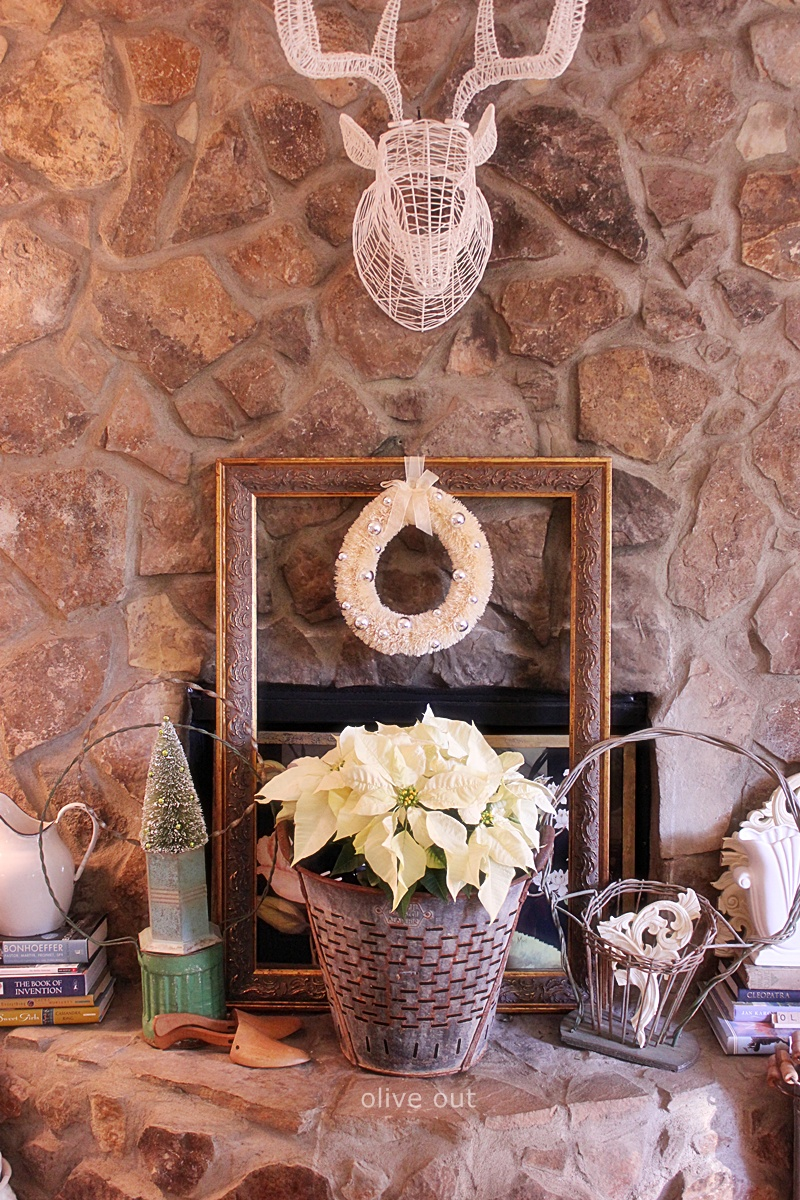 Olive Out Christmas Hearth