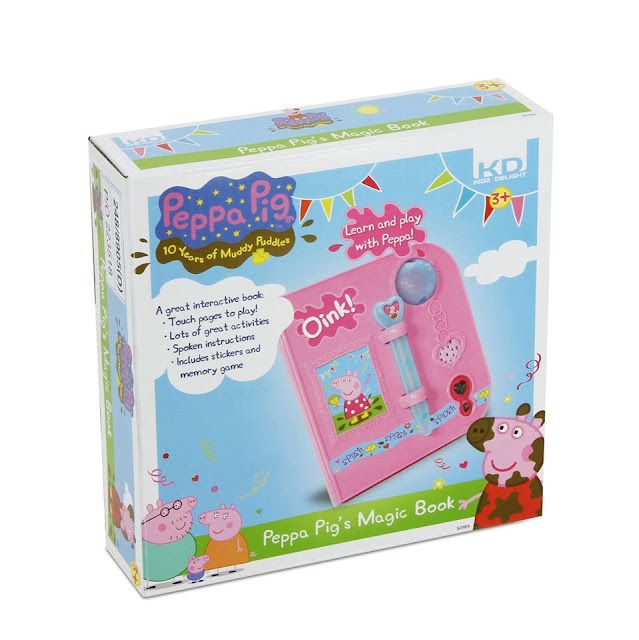 KD UK Peppa Pig Magic Book Giveaway