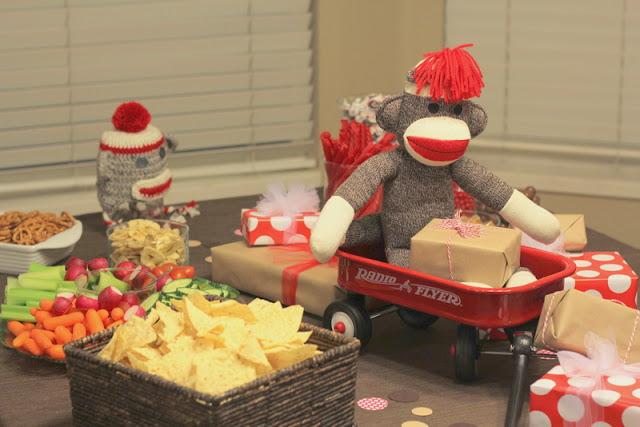 Sumo's Sweet Stuff: .:Sock Monkey Baby Shower - Paisley Palooza:.