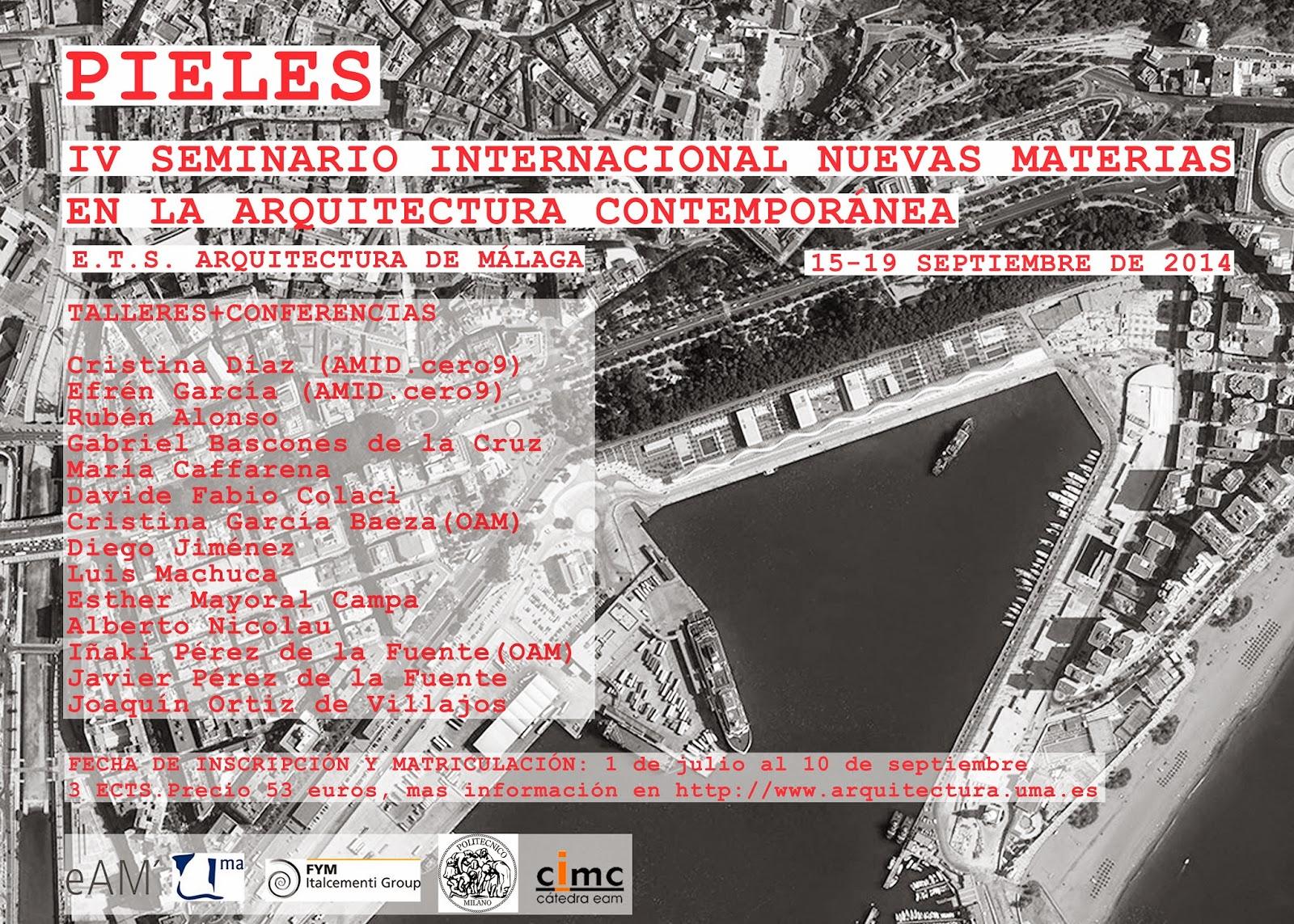 Blog oam oficina de arquitectura m laga iv seminario for Arquitectura materias