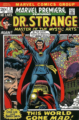 Marvel Premiere #3, Dr Strange, Barry Smith art