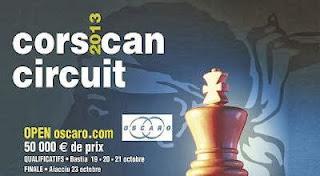 Echecs : le 17e Corsican circuit © site de la Ligue Corse