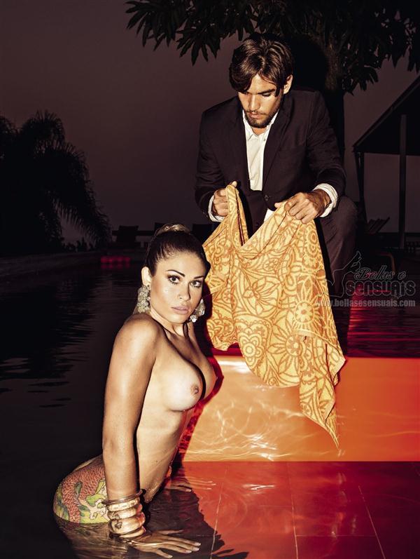 Fotos da Gari Gata Rita Mattos nua e pelada na Playboy Brasil