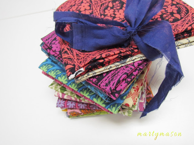 "Just couldn't resist ordering Anna Maria Horner's ""True Colors"" fat quarter bundle"
