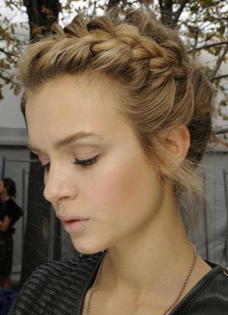 Cute french braid hairstyles2