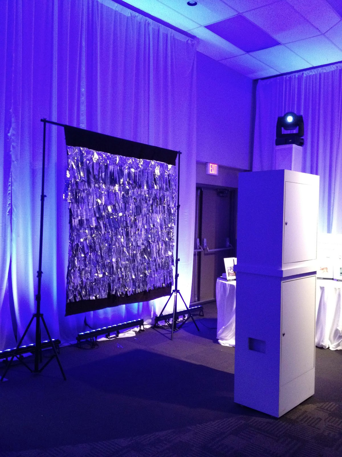 An open booth rental available from Photobooth Vancouver.