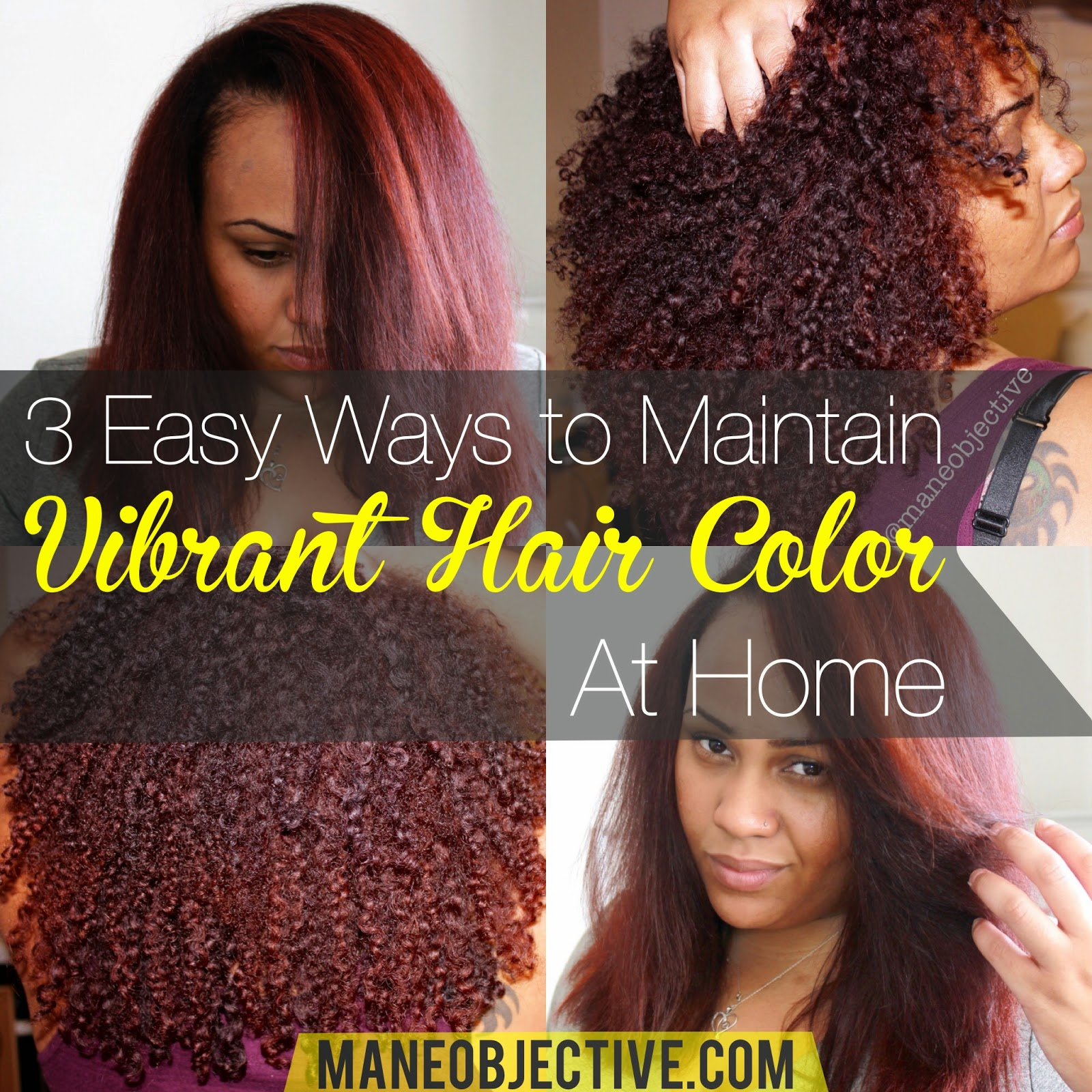the mane objective 3 easy ways to maintain vibrant hair color at home