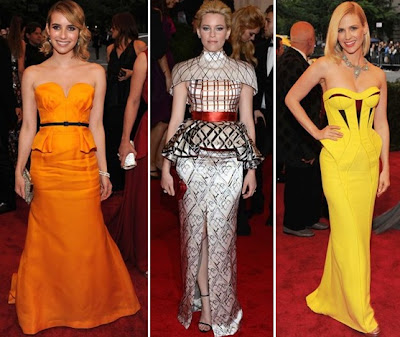 Met Ball 2012 Roberts Escada Banks Katrantzou Versace