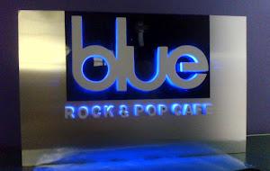 blue - LETRERO RETROILUMINADO
