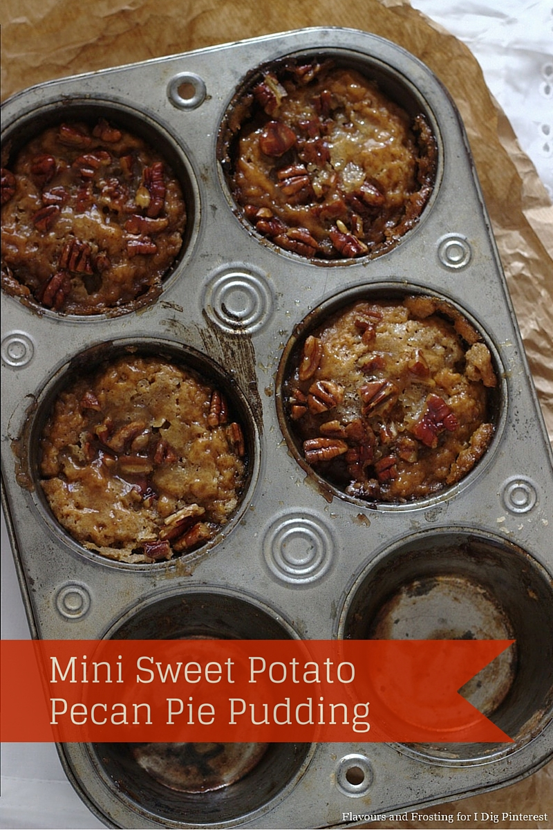 Dig Pinterest: Mini Sweet Potato Pecan Pie Pudding