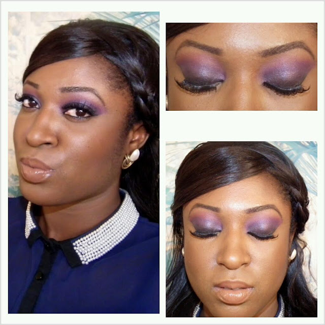 Black smokey eyes for women of colour