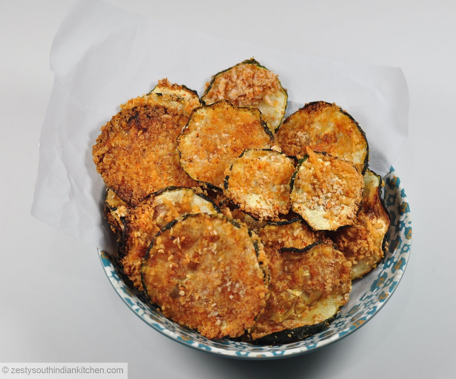 Garam masala zucchini chips too good as it is baked zesty south adapted from my recipes forumfinder Choice Image