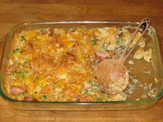 Food to Make Your Mouth Water: Smoked Sausage & Pasta Casserole