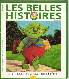 Les belles histoires magasine enfant TAG 1990's
