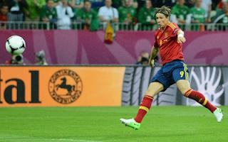 اهداف مباراة اسبانيا وايرلندا 4-0 في بطولة اليورو 14-6-2012