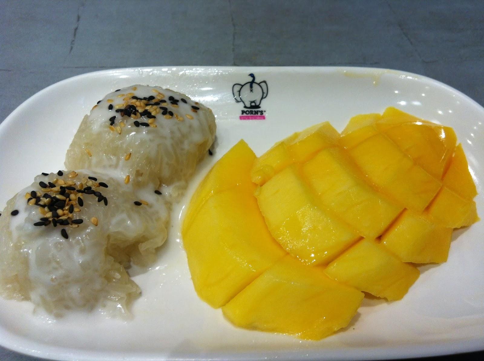 food hunt  best mango sticky rice in singapore