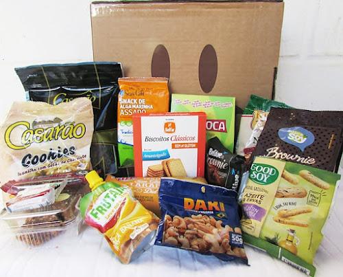 GlutenFree Box   Caixa do mês de Julho