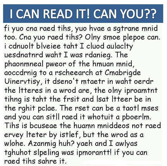 I can read it. Can you?