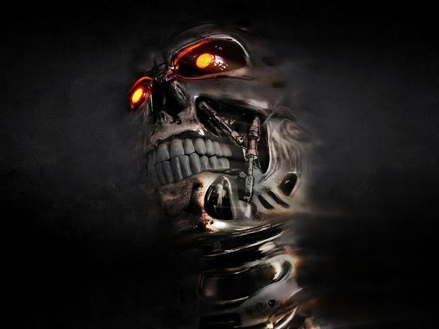 3D Head Skull Wallpaper