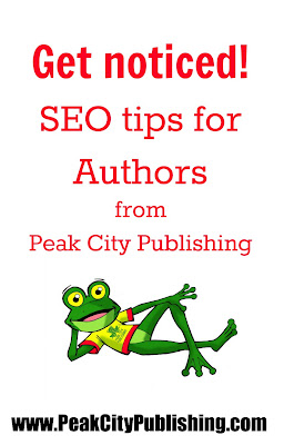 Get noticed! SEO tips for Authors, make sure google is working for you! Help from Peak City Publishing, Raleigh North Carolina