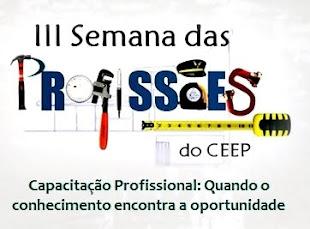 III Semana das Profissões do CEEP