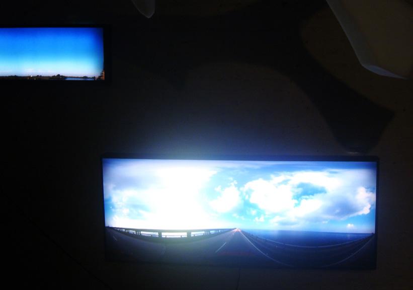 "Pawel Wojtasik, ""Next Atlantis"", light boxes"