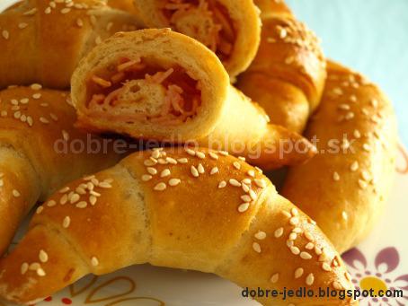 Pizzové rožky - recepty